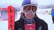 Ester Ledecká po šokujícím triumfu v Lake Louise